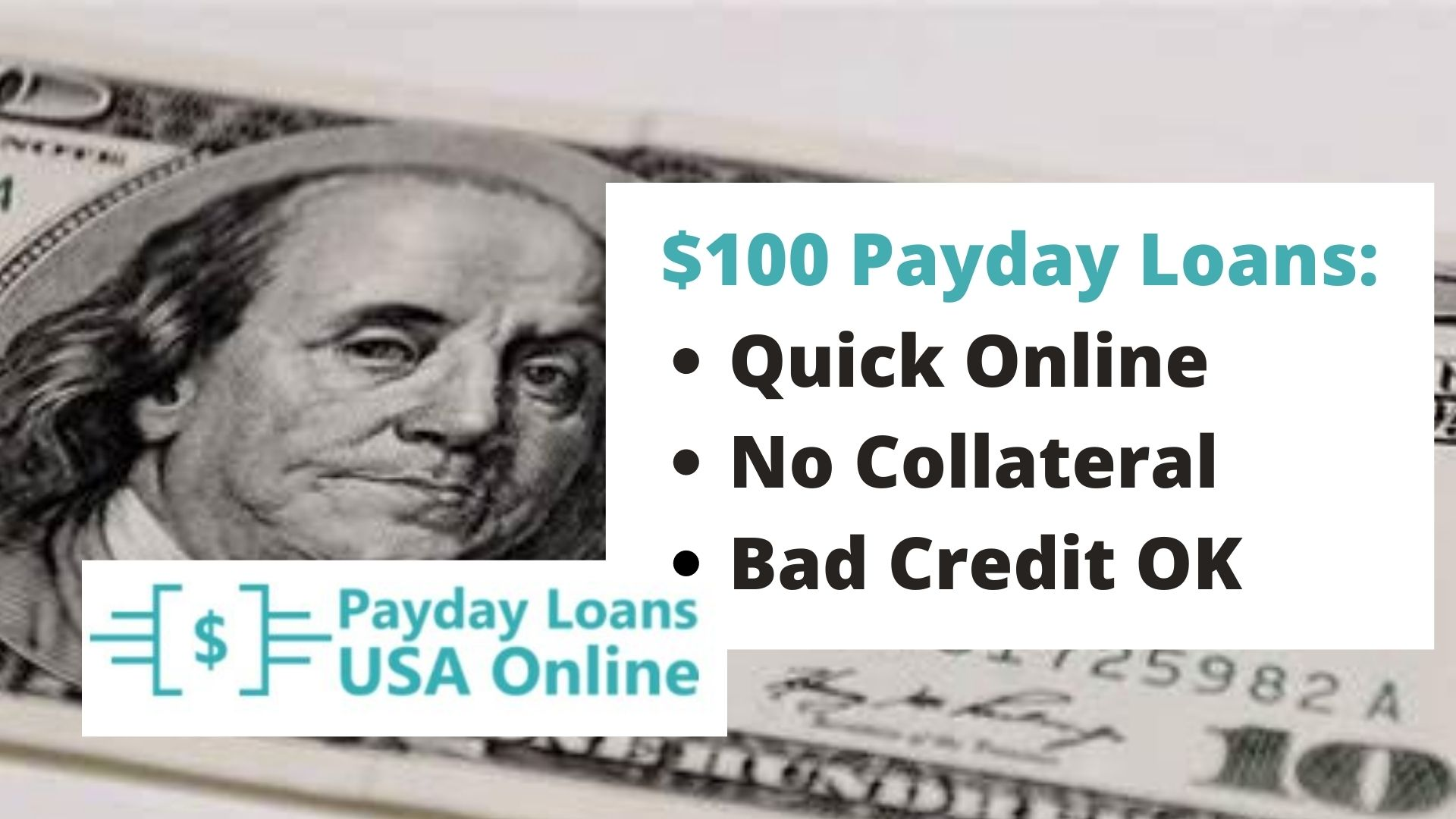$100 Payday Loan