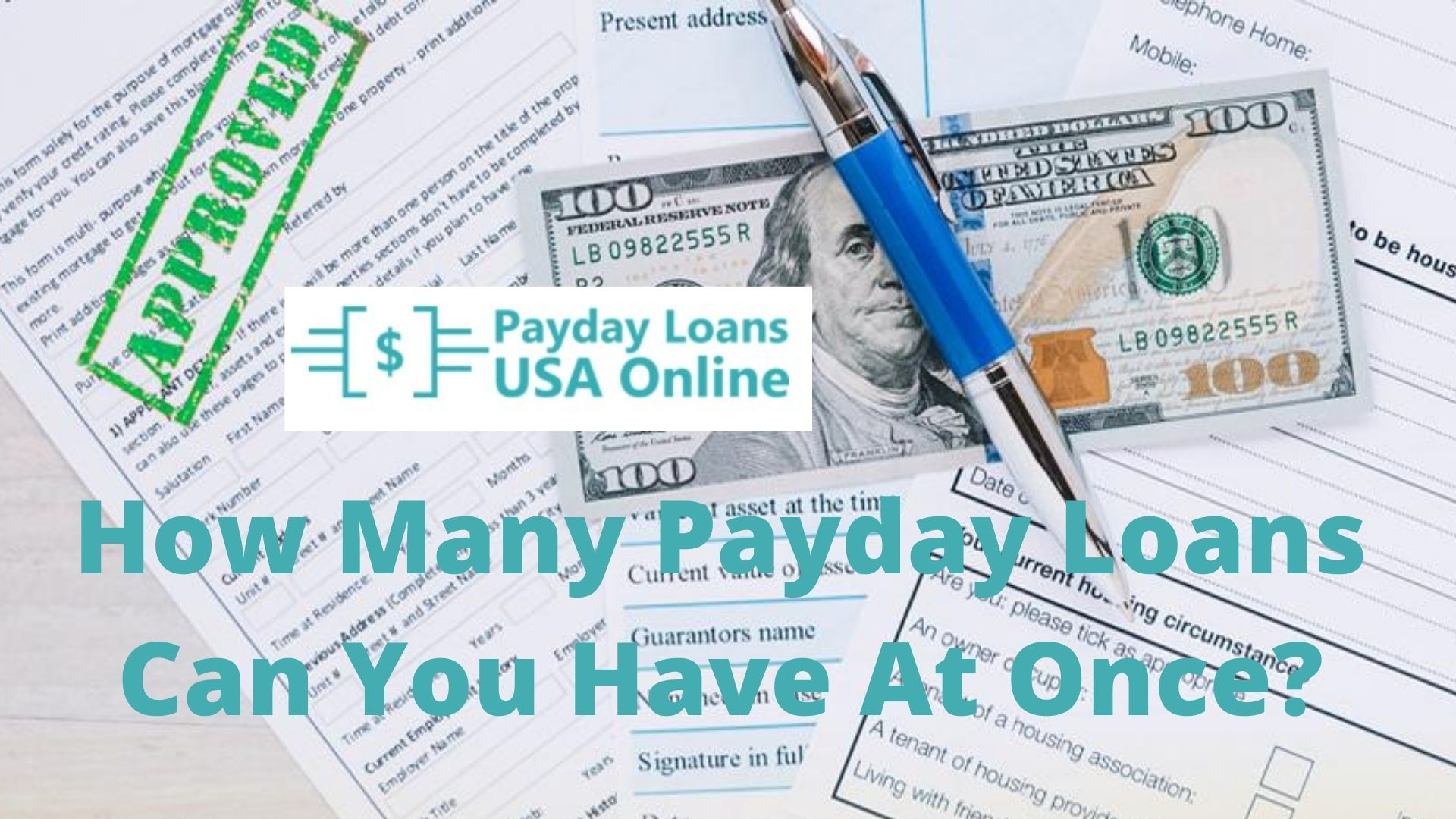 how many payday loans can you have