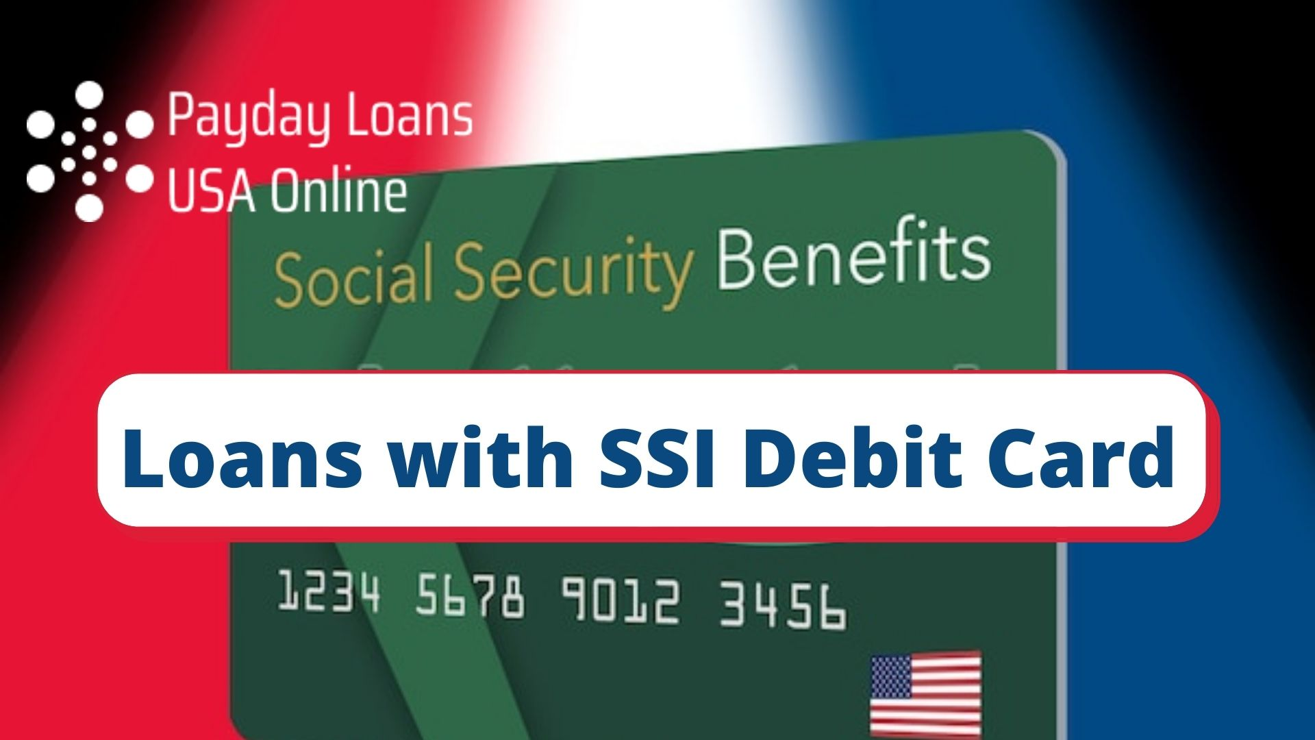 Payday Loans on SSI debit card